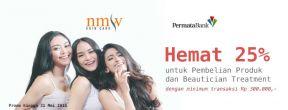 Diskon 25% di NMW Skin Care dengan Kartu Kredit Permata