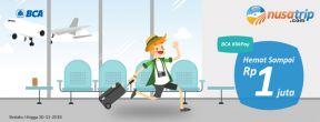Cashback Hotel & Tiket Pesawat hingga 1jt di Nusatrip dengan Kartu Kredit BCA