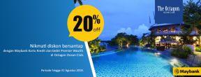 Diskon 20% di Octagon Ocean Club dengan Kartu Kredit Maybank