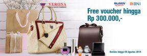 Free voucher hingga Rp 300.000 di Verona Pekanbaru dengan Kartu Kredit BNI