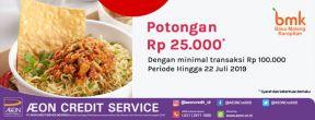 Potongan Harga Rp 25.000 di Bakso Malang Karapitan
