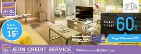 Diskon Hingga 60% di Hotel Zia dengan Kartu Kredit AEON