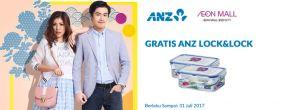 Gratis ANZ Lock&Lock Classics Gift Set di AEON Mall dengan Kartu Kredit ANZ