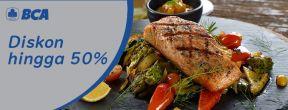 Diskon hingga 50% A'la Carte Menu Food Only di Ambiente Ristorante dengan Kartu Kredit BCA