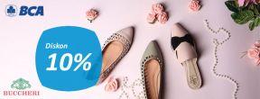 Diskon 10% di Buccheri dengan Kartu Kredit BCA