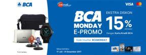 BCA Monday E-Promo Jakmall