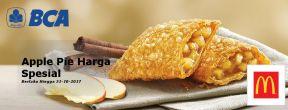 Harga Spesial Apple Pie McDonald's dengan Kartu Kredit BCA