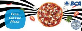 FREE Classic Pizza Marzano dengan Kartu Kredit BCA