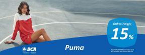 Diskon Hingga 15% Puma dengan Kartu Kredit BCA