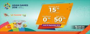 Diskon hingga 15% untuk Official Merchandise Asian Games 2018