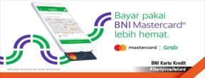 Diskon Spesial Naik Grab dengan BNI Mastercard