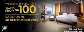 Promo Grand Hyatt Harga Spesial di Akhir Pekan dengan Kartu Kredit BNI