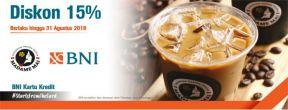 Diskon 15% di Madame Mai dengan Kartu Kredit BNI