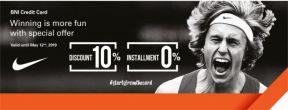 Diskon 10% + Cicilan 0% hingga 6 Bulan di Semua Outlet Nike dengan Kartu Kredit BNI