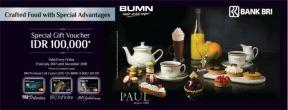 Gratis Complimentary Dessert di PAUL Depuis dengan Kartu Kredit BRI
