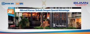 Diskon 20% Akmani Hotel dengan Kartu Kredit BRI