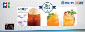 Gratis Minuman di Ardent Archipelago dengan Kartu Kredit BRI JCB Platinum