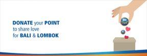 Donasikan BRI Poin Kartu Kredit Anda untuk Korban Gempa Lombok dan Bali