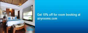 Diskon 10% di Airy Rooms dengan Kartu Kredit Citibank