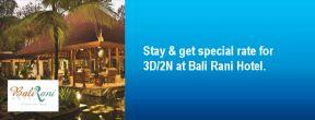 Harga Spesial di Bali Rani Hotel dengan Kartu Kredit Citibank