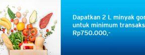 Gratis 2L Minyak Goreng di Borma Supermarket dengan Kartu Kredit Citibank