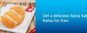 Gratis Spicy Sakana Katsu Hokben untuk Pemegang Kartu Kredit Citibank