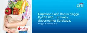 Diskon Hingga 10% di Hokky Supermarket Surabaya dengan Kartu Kredit Citi