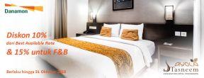 Diskon hingga 15% & stay 3 pay 2 nights di Ayola Tasneem Yogyakarta dengan Kartu Kredit Danamon