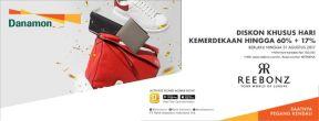 Diskon 60% + 17% Spesial Promo Merdeka di Reebonz dengan Kartu Kredit Danamon