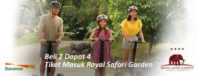 Beli 2 Dapat 4 Tiket Masuk Royal Safari Garden dengan Kartu Kredit Danamon