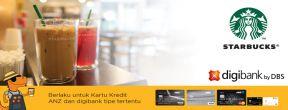 Starbucks Airport Treat Khusus untuk Pemegang Kartu Kredit Digibank dan Eks ANZ