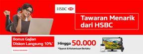 Diskon Hingga 10% di Blanja.com dengan Kartu Kredit HSBC