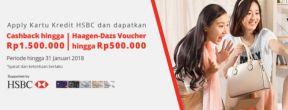 Apply Kartu Kredit HSBC di JD.ID dan Dapatkan Cashback