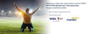Nonton FINAL FIFA World Cup 2018 Bersama VISA