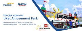 Promo Harga Spesial Tiket Amusement Park dengan Mandiri Kartu Kredit