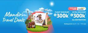 Diskon Hingga 300ribu untuk Hotel dan Penerbangan di Traveloka dengan Mandiri Kartu Kredit