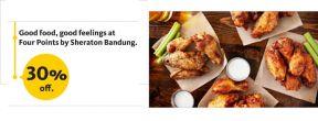 Diskon 30% di Four Points by Sheraton Bandung dengan Maybank Kartu Kredit