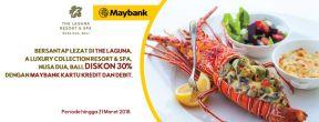 Diskon 30% di The Laguna Nusa Dua Bali dengan Maybank Kartu Kredit