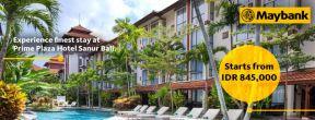 Harga Spesial dengan Maybank Kartu Kredit di Prime Plaza Hotel Sanur Bali