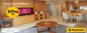 Diskon 30% di Swiss-Belhotel Indonesia dengan Kartu Kredit Maybank JCB