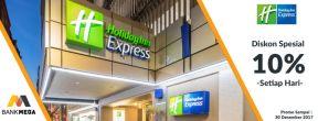 Diskon 10% di Holiday Inn Express Jakarta dengan Kartu Kredit Mega