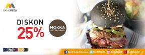 Diskon 25% di Mokka Coffee Cabana dengan Kartu Kredit Mega