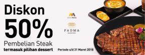 Diskon 50% Padma Hotel Bandung dengan Kartu Kredit Mega