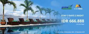 Diskon 10% di Primebiz Hotels dengan Kartu Kredit Mega