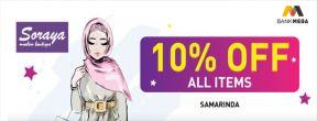 Soraya Moslem Boutique 10% Off dengan Kartu Kredit Mega