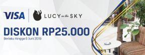 Diskon Rp 25.000 di Lucy in The Sky dengan Kartu Kredit MNC Bank