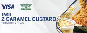 Gratis Caramel Custard Wingstop untuk Pemegang Kartu Kredit MNC