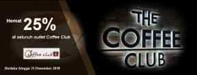 Hemat 25% di Coffee Club dengan Kartu Kredit Permata