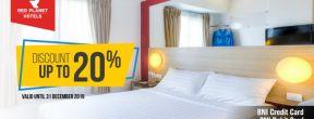 Diskon 20% di Red Planet Hotels dengan Kartu Kredit BNI