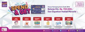 Promo Spend & Get di AEON Store dengan Kartu Kredit AEON